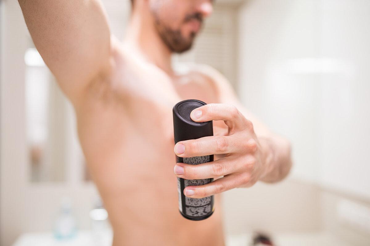 Ошибки при использовании дезодоранта