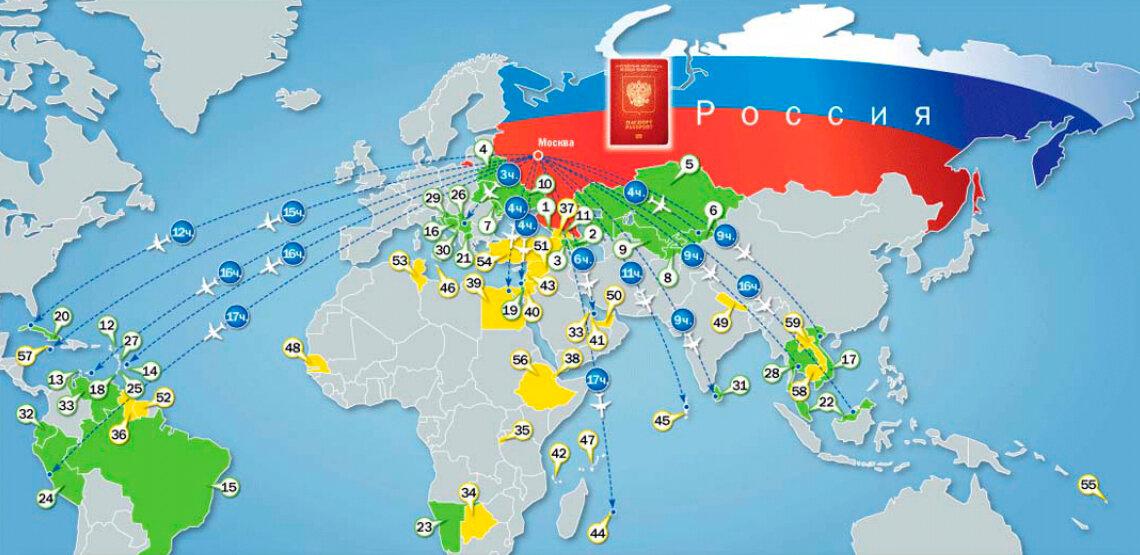 Страны, где россияне могут хорошо заработать