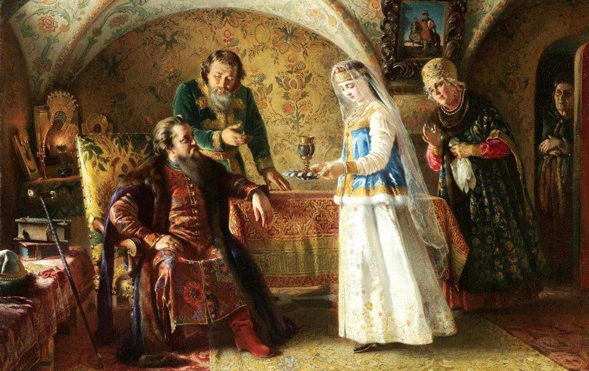 Зачем в старину русских мальчиков женили на взрослых женщинах