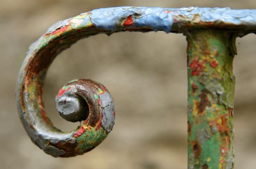 Как можно использовать старый металлический скребок